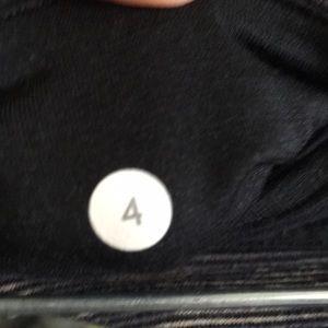 lululemon athletica Pants - Lululemon grey & tan crop legging sz 4 57597